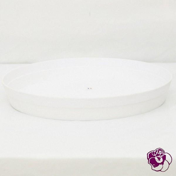 Soucoupe Plastique Blanche