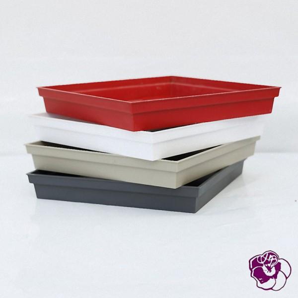 Soucoupe Carrée  Plastique 40x40x5.9 cm